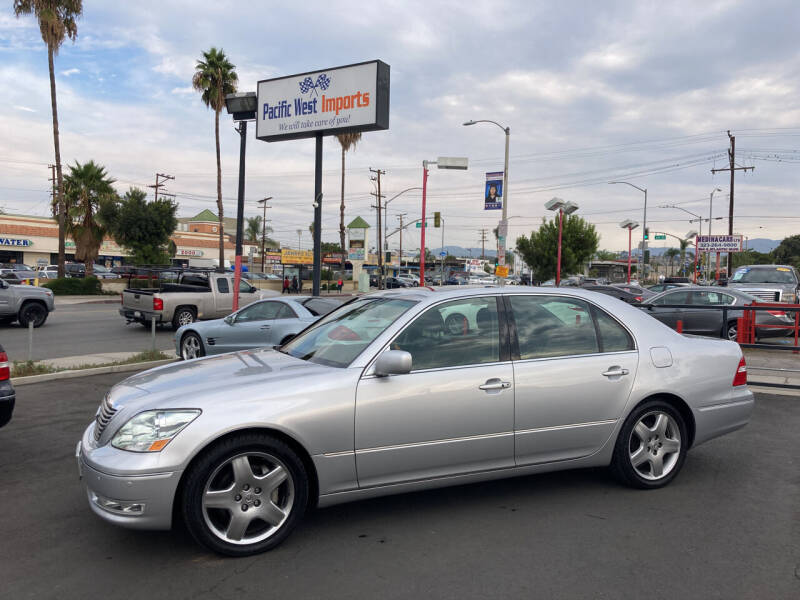 2005 Lexus LS 430 for sale at Pacific West Imports in Los Angeles CA