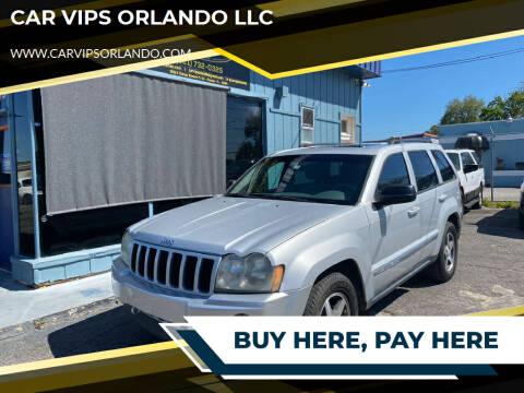 2006 Jeep Grand Cherokee for sale at CAR VIPS ORLANDO LLC in Orlando FL