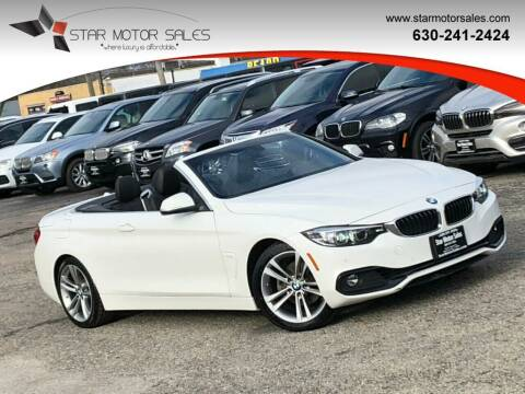 2018 BMW 4 Series for sale at Star Motor Sales in Downers Grove IL