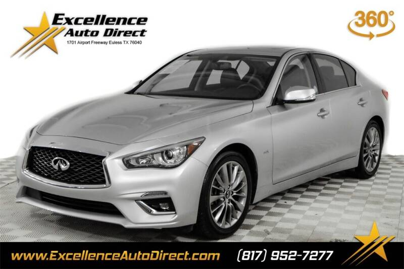 2019 Infiniti Q50 for sale in Euless, TX