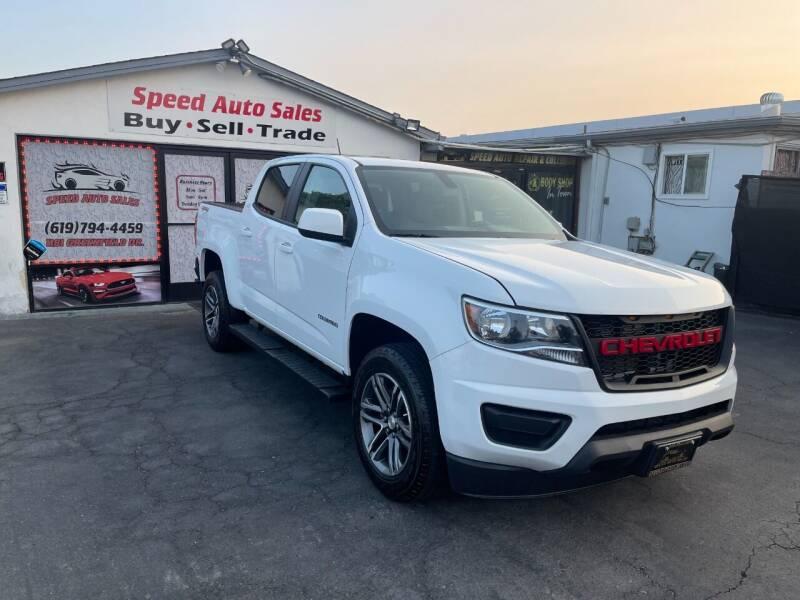 2019 Chevrolet Colorado for sale at Speed Auto Sales in El Cajon CA
