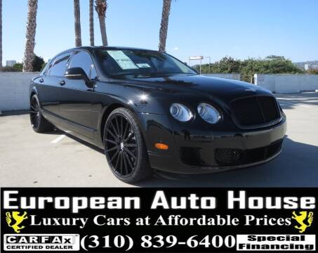 2013 Bentley Continental for sale at European Auto House in Los Angeles CA
