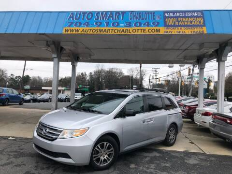 2011 Honda Odyssey for sale at Auto Smart Charlotte in Charlotte NC