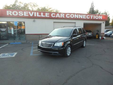 2014 Chrysler Town and Country for sale at ROSEVILLE CAR CONNECTION in Roseville CA