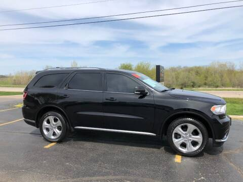 2014 Dodge Durango for sale at Fox Valley Motorworks in Lake In The Hills IL