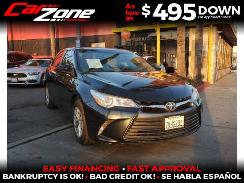 2017 Toyota Camry Hybrid for sale at Carzone Automall in South Gate CA