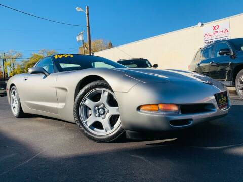 1999 Chevrolet Corvette for sale at Alpha AutoSports in Roseville CA