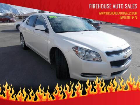 2010 Chevrolet Malibu for sale at Firehouse Auto Sales in Springville UT