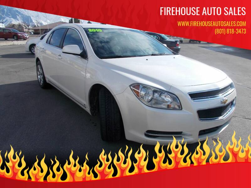 2010 Chevrolet Malibu for sale at Firehouse Auto Sales in Springville UT