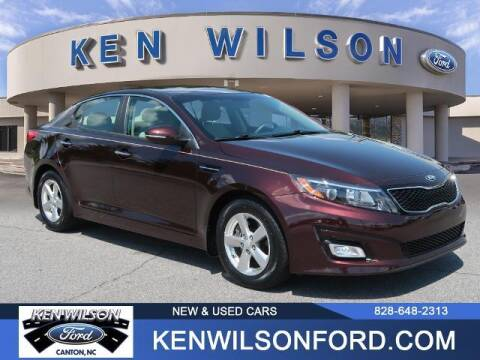 2015 Kia Optima for sale at Ken Wilson Ford in Canton NC