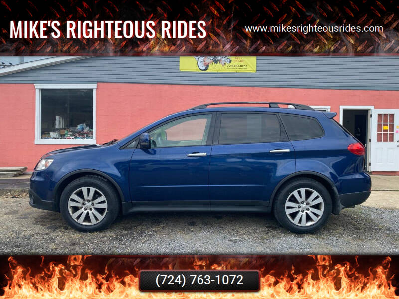 2010 Subaru Tribeca for sale at Mike's Righteous Rides in Mc Grann PA