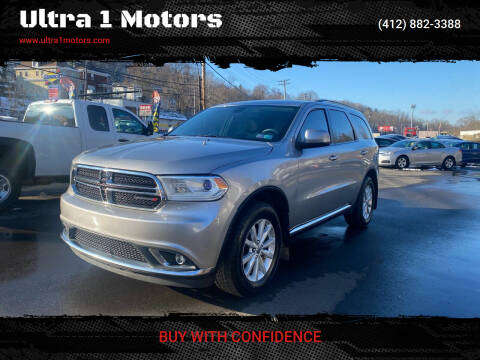 2015 Dodge Durango for sale at Ultra 1 Motors in Pittsburgh PA