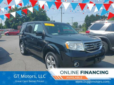 2012 Honda Pilot for sale at GT Motors, LLC in Elkin NC