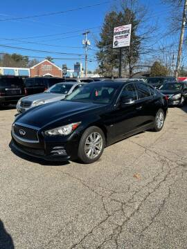 2016 Infiniti Q50 for sale at NEWFOUND MOTORS INC in Seabrook NH