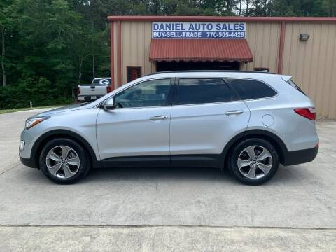 2014 Hyundai Santa Fe for sale at Daniel Used Auto Sales in Dallas GA
