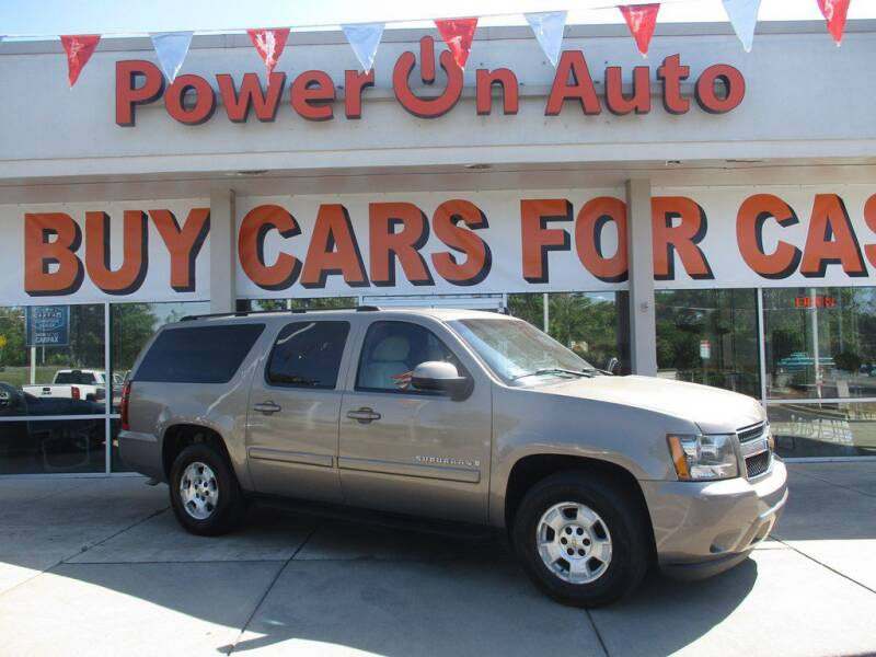 2007 Chevrolet Suburban for sale at Power On Auto LLC in Monroe NC