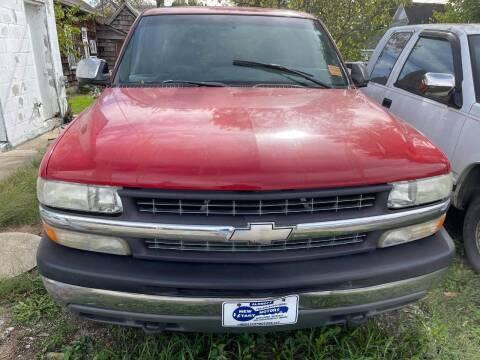 2000 Chevrolet Silverado 1500 for sale at New Start Motors LLC in Montezuma IN