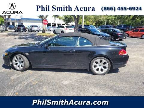 2007 BMW 6 Series for sale at PHIL SMITH AUTOMOTIVE GROUP - Phil Smith Acura in Pompano Beach FL