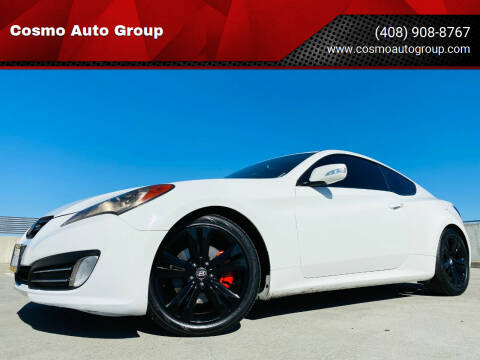 2011 Hyundai Genesis Coupe for sale at Cosmo Auto Group in San Jose CA