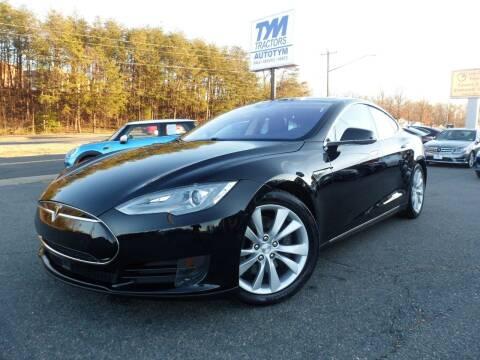 2016 Tesla Model S for sale at AUTOTYM INC in Fredericksburg VA