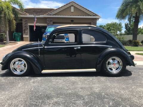 1957 Volkswagen Beetle for sale at Classic Car Deals in Cadillac MI