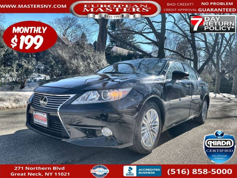 2013 Lexus ES 350 for sale at European Masters in Great Neck NY
