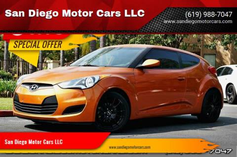 2016 Hyundai Veloster for sale at San Diego Motor Cars LLC in San Diego CA