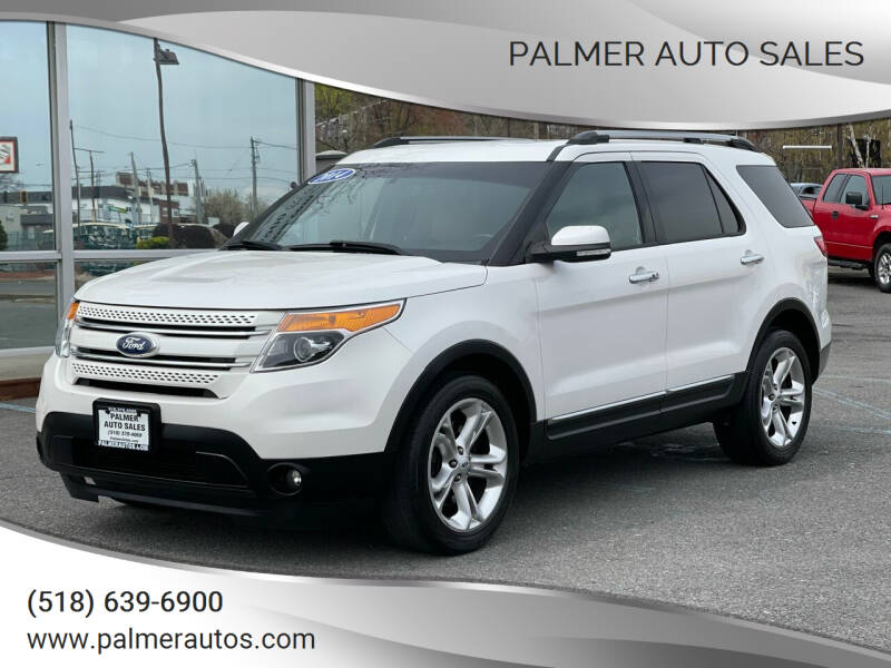2014 Ford Explorer for sale at Palmer Auto Sales in Menands NY