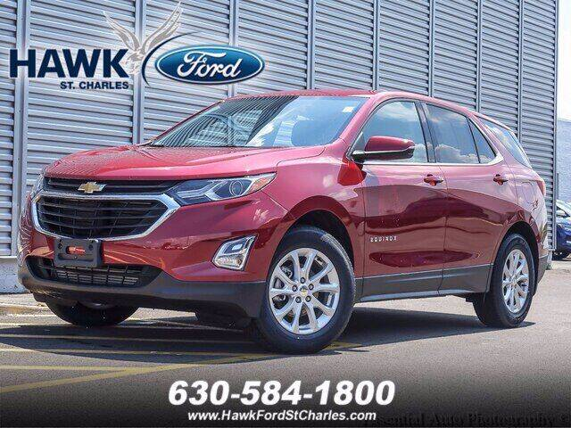 2018 Chevrolet Equinox for sale at Hawk Ford of St. Charles in Saint Charles IL
