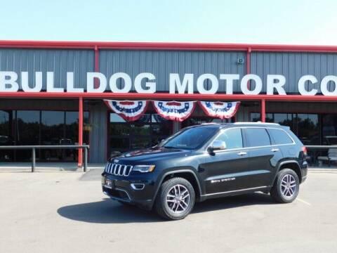 2019 Jeep Grand Cherokee for sale at Bulldog Motor Company in Borger TX