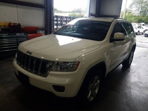 2012 Jeep Grand Cherokee for sale at Hometown Automotive Service & Sales in Holliston MA