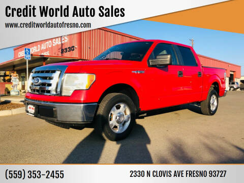 2010 Ford F-150 for sale at Credit World Auto Sales in Fresno CA