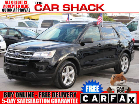 2018 Ford Explorer for sale at The Car Shack in Hialeah FL