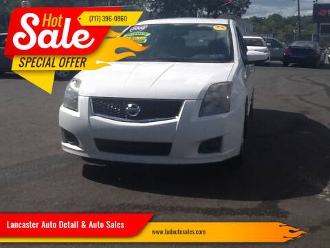 2008 Nissan Sentra for sale at Lancaster Auto Detail & Auto Sales in Lancaster PA