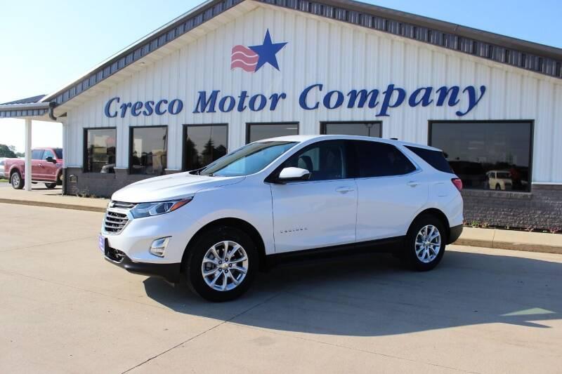 2020 Chevrolet Equinox for sale at Cresco Motor Company in Cresco IA
