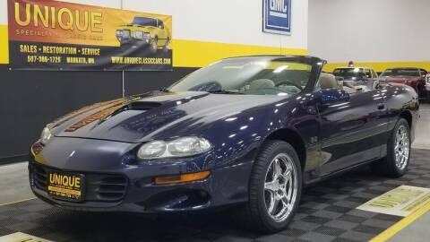 2000 Chevrolet Camaro for sale at UNIQUE SPECIALTY & CLASSICS in Mankato MN