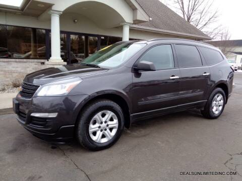 2017 Chevrolet Traverse for sale at DEALS UNLIMITED INC in Portage MI