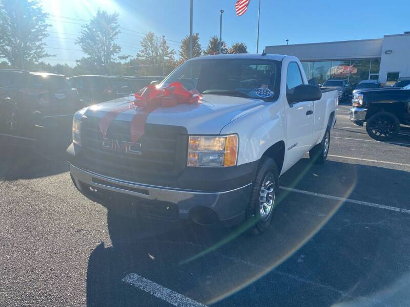 2009 GMC Sierra 1500 for sale at Charlotte Auto Group, Inc in Monroe NC