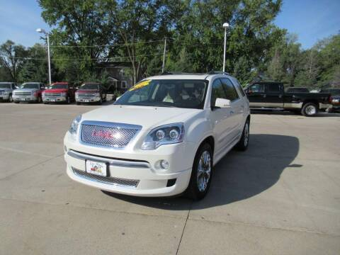 2012 GMC Acadia for sale at Aztec Motors in Des Moines IA