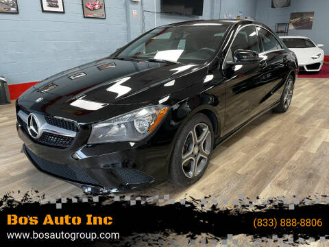 2014 Mercedes-Benz CLA for sale at Bos Auto Inc in Quincy MA