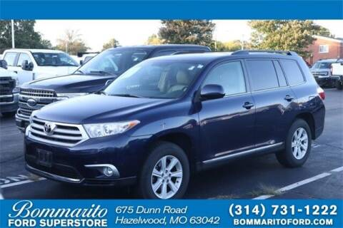 2013 Toyota Highlander for sale at NICK FARACE AT BOMMARITO FORD in Hazelwood MO