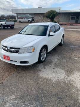 2013 Dodge Avenger for sale at Tracy's Auto Sales in Waco TX