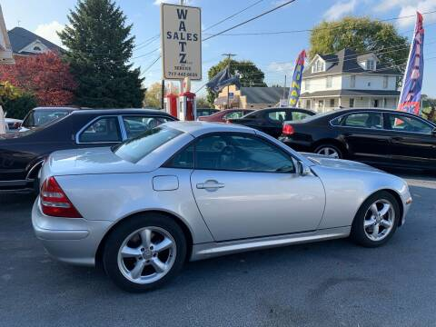 2001 Mercedes-Benz SLK for sale at Waltz Sales LLC in Gap PA