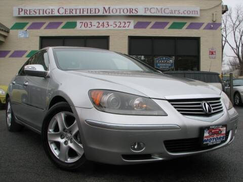 2008 Acura RL for sale at Prestige Certified Motors in Falls Church VA