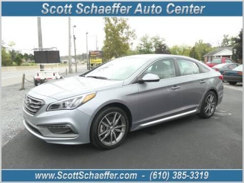 2017 Hyundai Sonata for sale at Scott Schaeffer Auto Center in Birdsboro PA