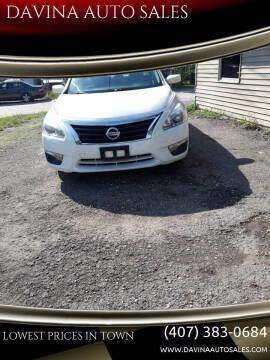2013 Nissan Altima for sale at DAVINA AUTO SALES in Orlando FL