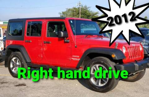 2012 Jeep Wrangler Unlimited for sale at Rodgers Wranglers in North Charleston SC