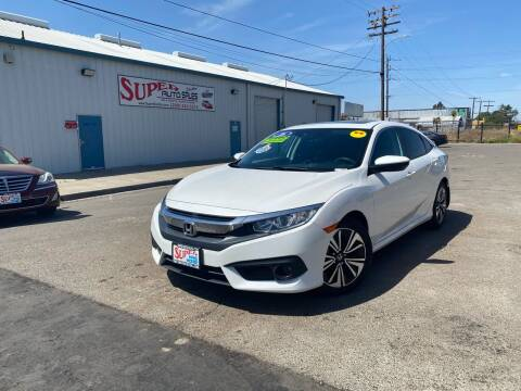 2016 Honda Civic for sale at SUPER AUTO SALES STOCKTON in Stockton CA