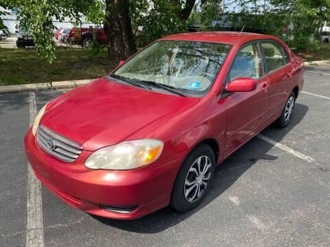 2003 Toyota Corolla for sale at Car Plus Auto Sales in Glenolden PA