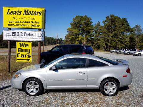 2008 Pontiac G5 for sale at Lewis Motors LLC in Deridder LA